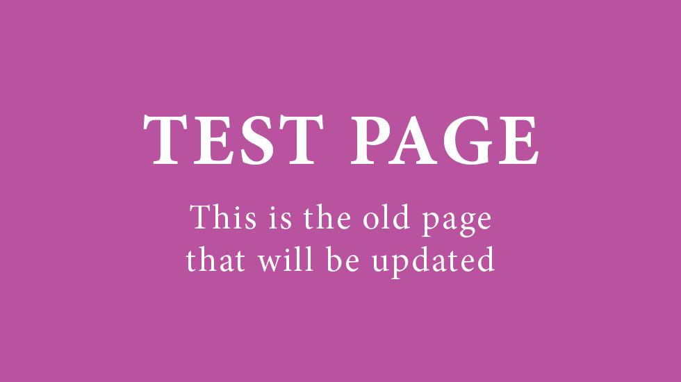 _Art Update Test Homepage (original page)