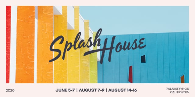Splash House 2020 header