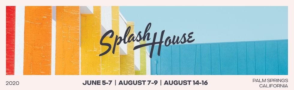 Splash House 2020 header